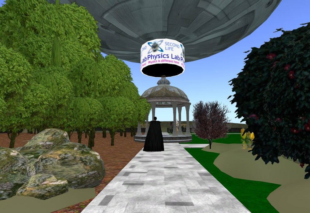 Second Life Physics Lab